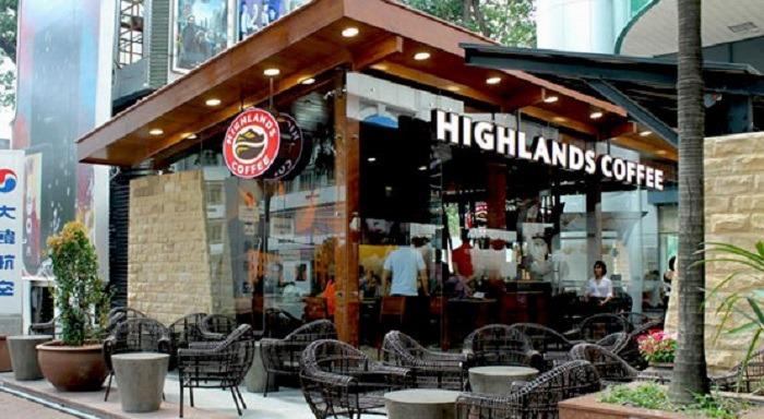nhượng quyền kinh doanh cafe highland