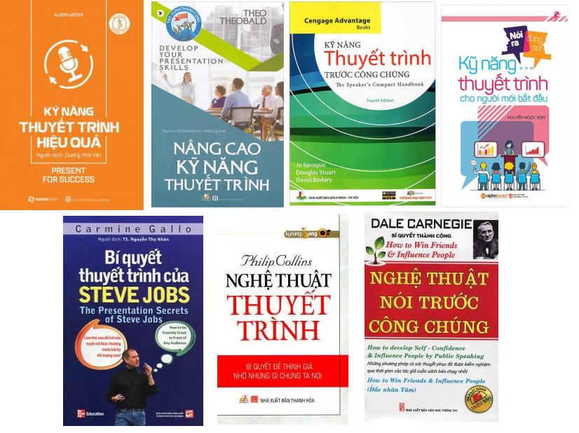 Sách kỹ năng thuyết trình