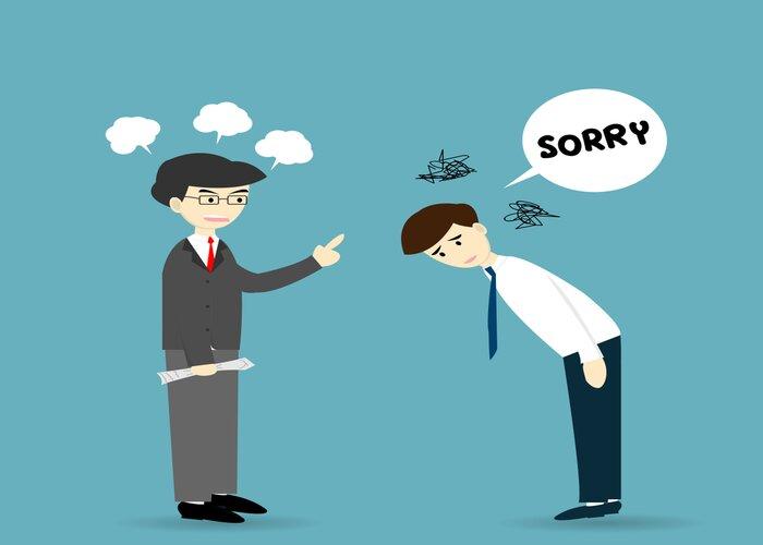 Nhận lỗi của bản thân trước khi phán xét người khác