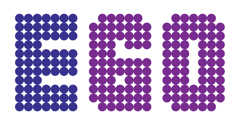 Logo công ty cổ phần kiến trúc cảnh quan ego việt nam