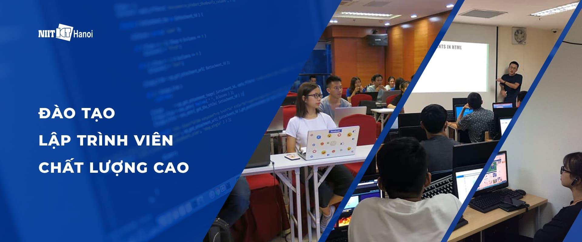 Banner Trung tâm đào tạo lập trình viên NIIT-ICT