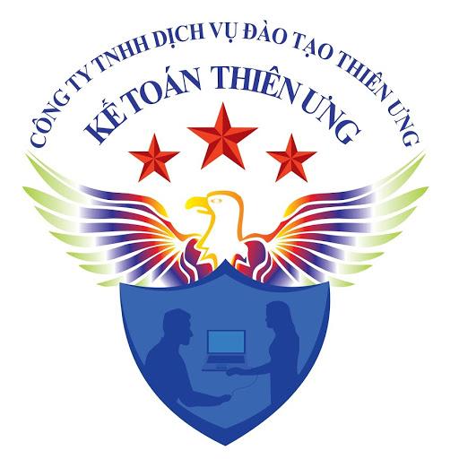 Logo Trung tâm kế toán Thiên Ưng