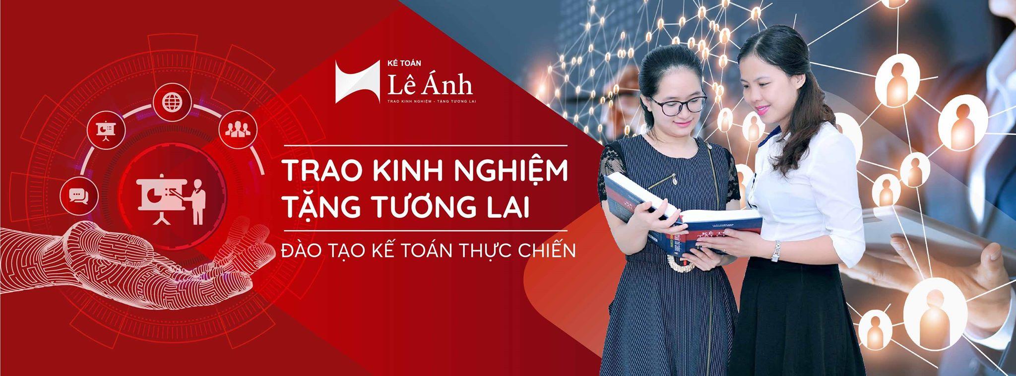 Banner Trung tâm kế toán- xuất nhập khẩu Lê Ánh